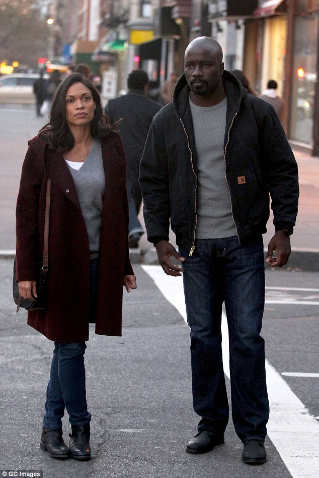 New Luke Cage Set Pics