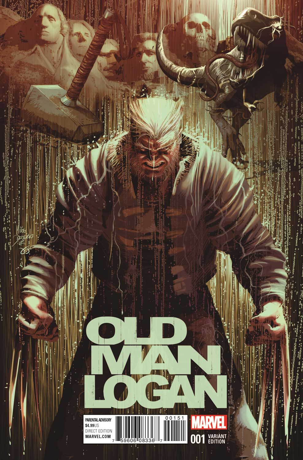 Old Man Logan Christopher Action Figure Variant