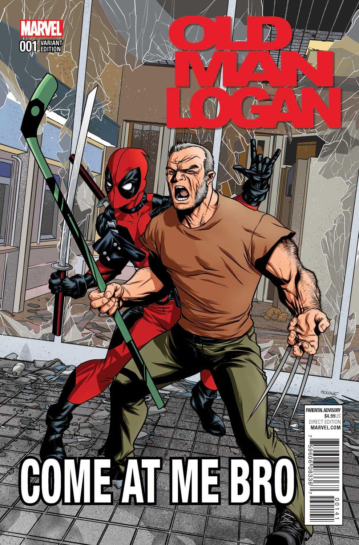 Old Man Logan Christopher Action Figure Variant