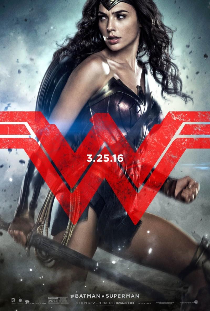 New Batman v Superman Character Posters!