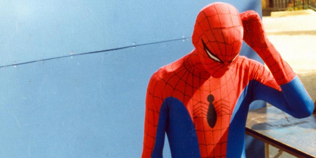 Confused Spider-Man