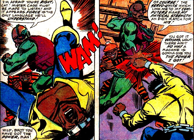 The colorful villains of Luke Cage!