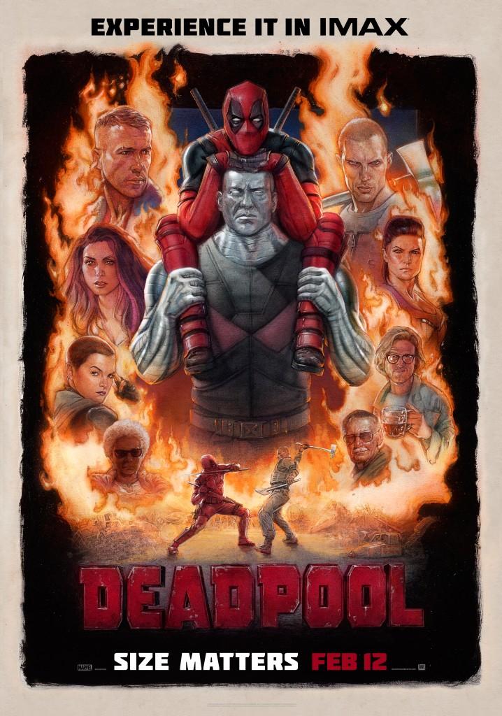 Deadpool IMAX Poster!