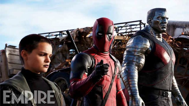 Deadpool and the gang!
