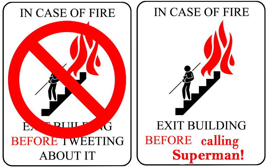 Signs for Superheroes!