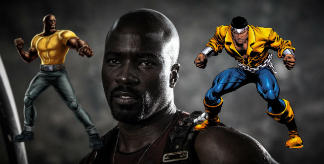 Mike Coulter as Luke Cage!
