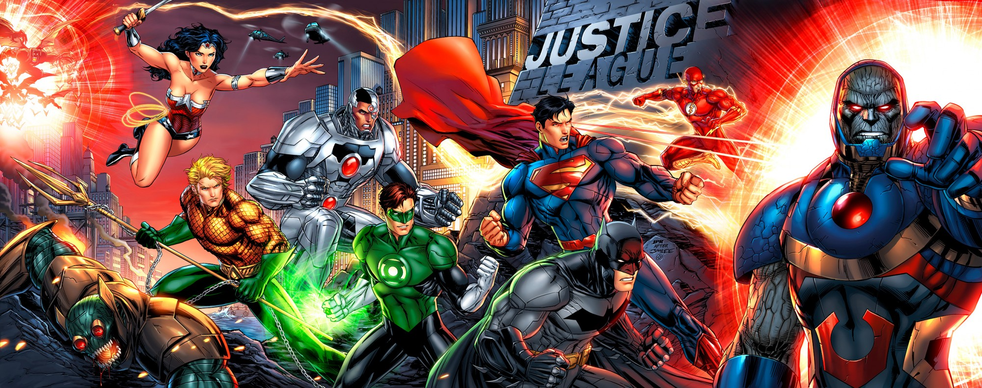 The Justice League in Batman v Superman!