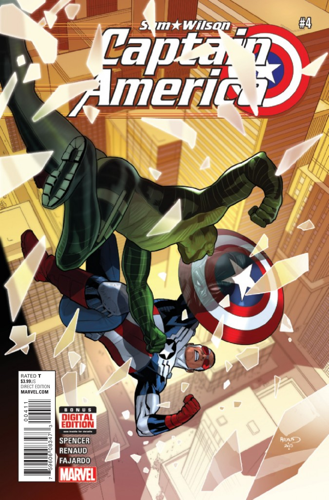 Sam Wilson: Captain America #4