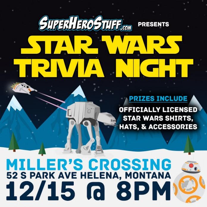 Star Wars Triva Night!