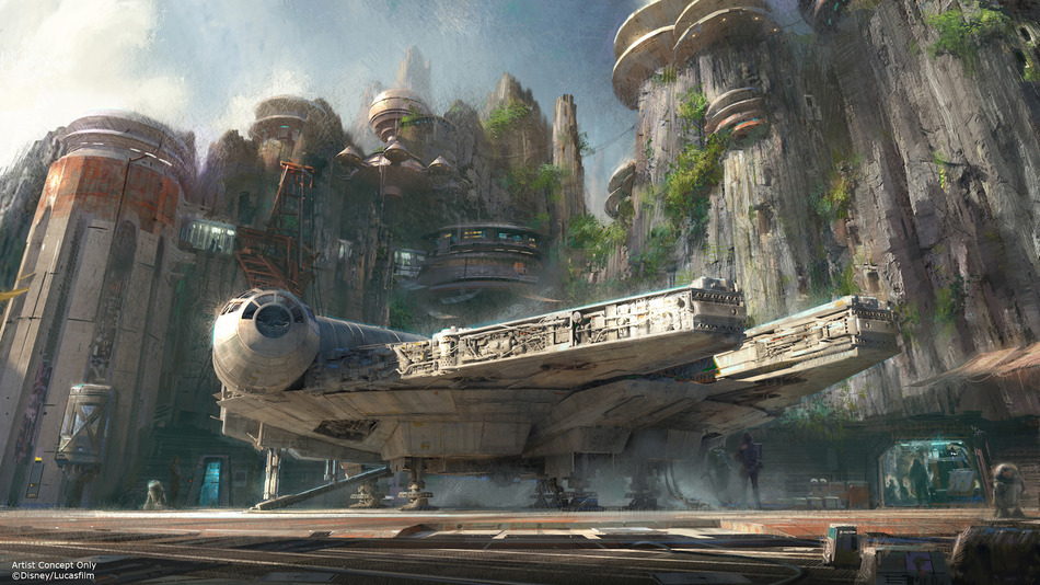 Star Wars Land!