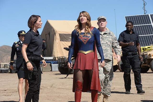 Supergirl readies herself for combat in Supergirl Episode 6!