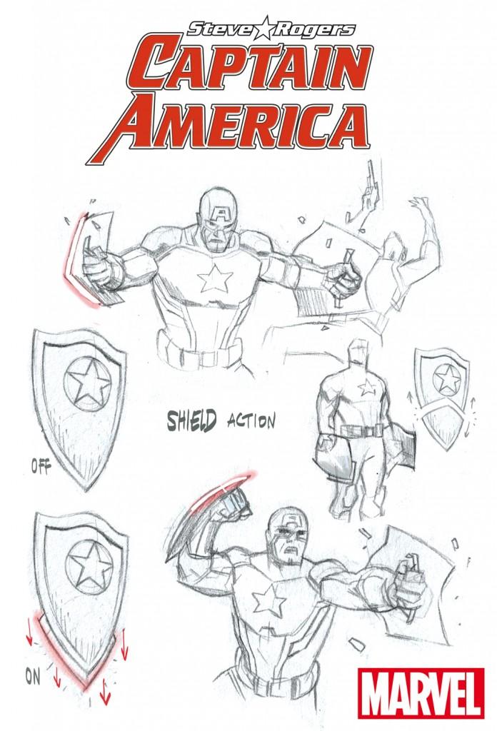 Steve Rogers: Captain Amercia!