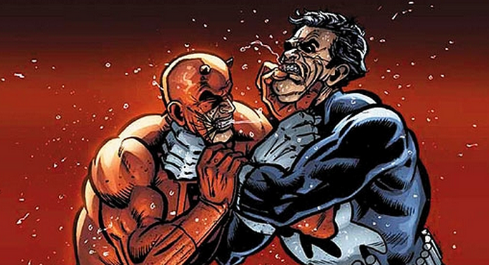 Daredevil V Punisher!