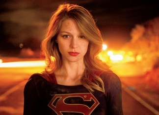 Supergirl fights!