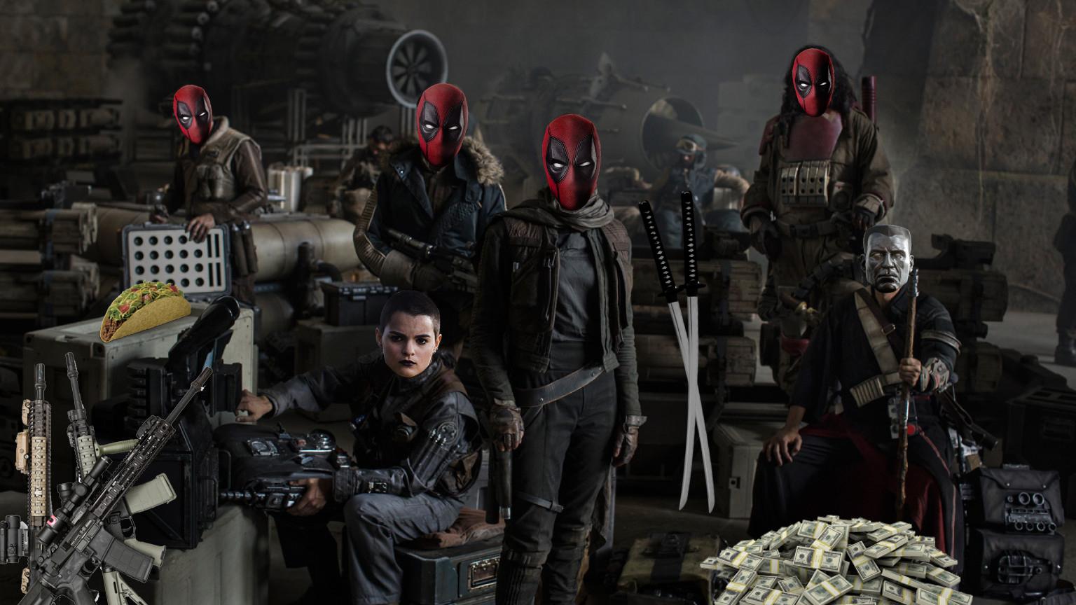 Rogue One: A Deadpool Story!