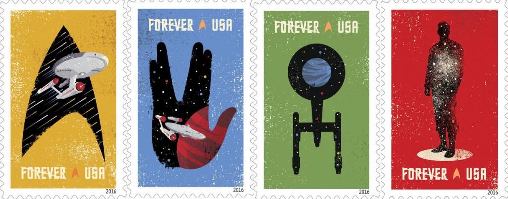 Star Trek Stamps!