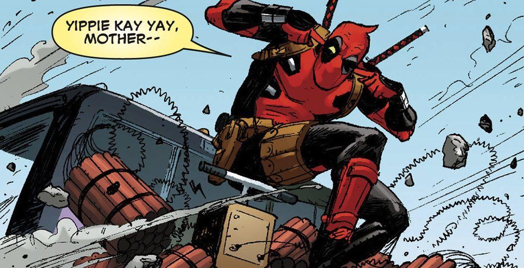 Deadpool CURSING!