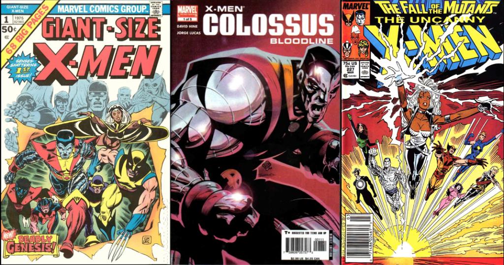 Giant-Size X-Men # 1, Colossus: Bloodline #1, Uncanny X-Men #227