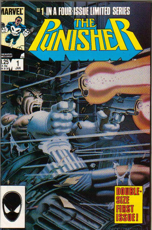 Punisher's first appearance