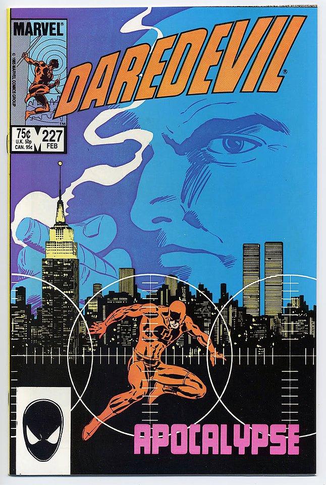 """Daredevil #227: the start of """"Born Again."""""""