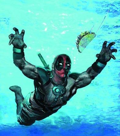 Deadpool parodies Nirvana