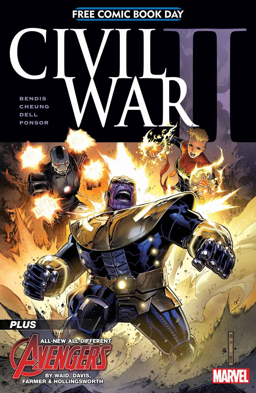 FCBD Civil War II Cover!
