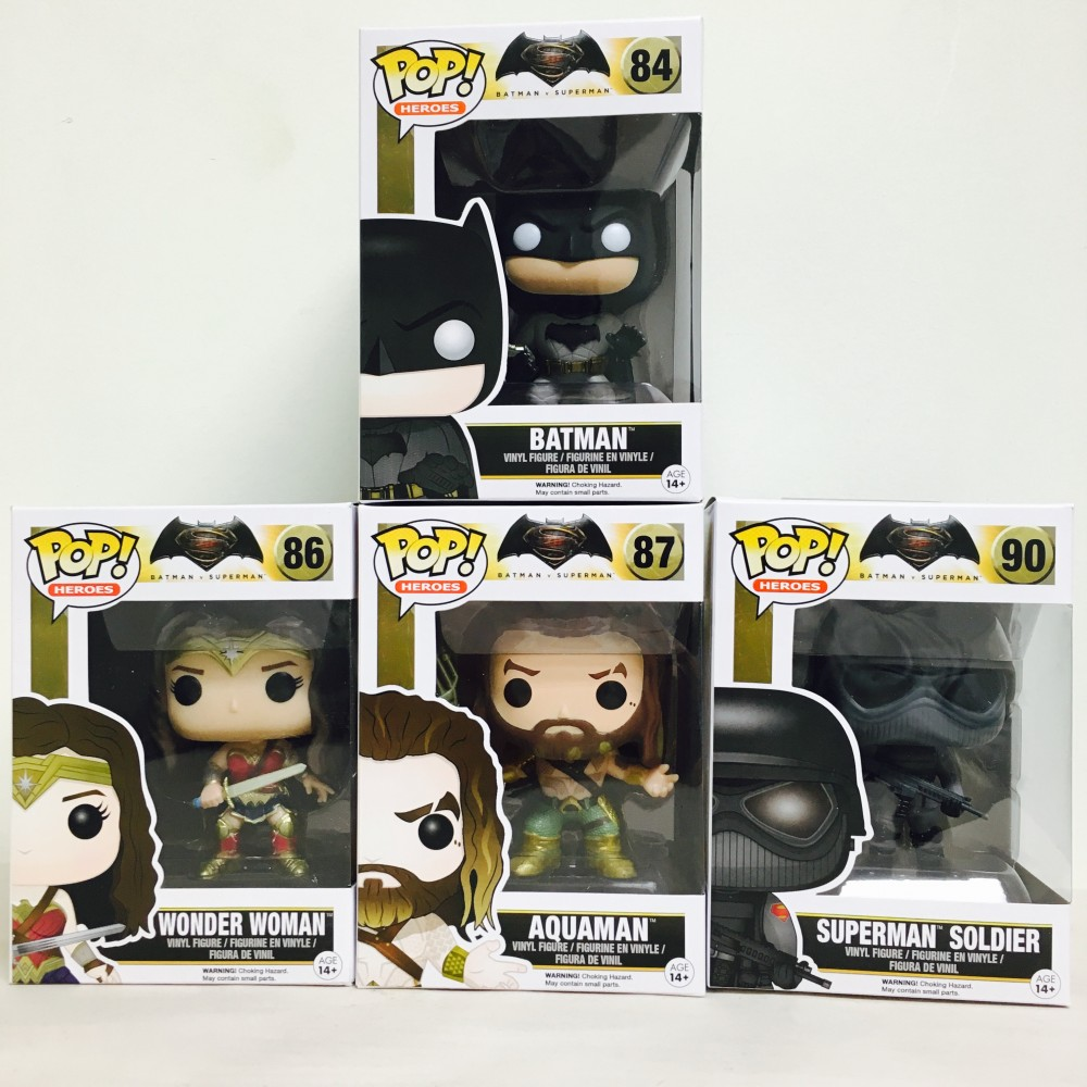 New Batman V Superman POP VInyl Figures!