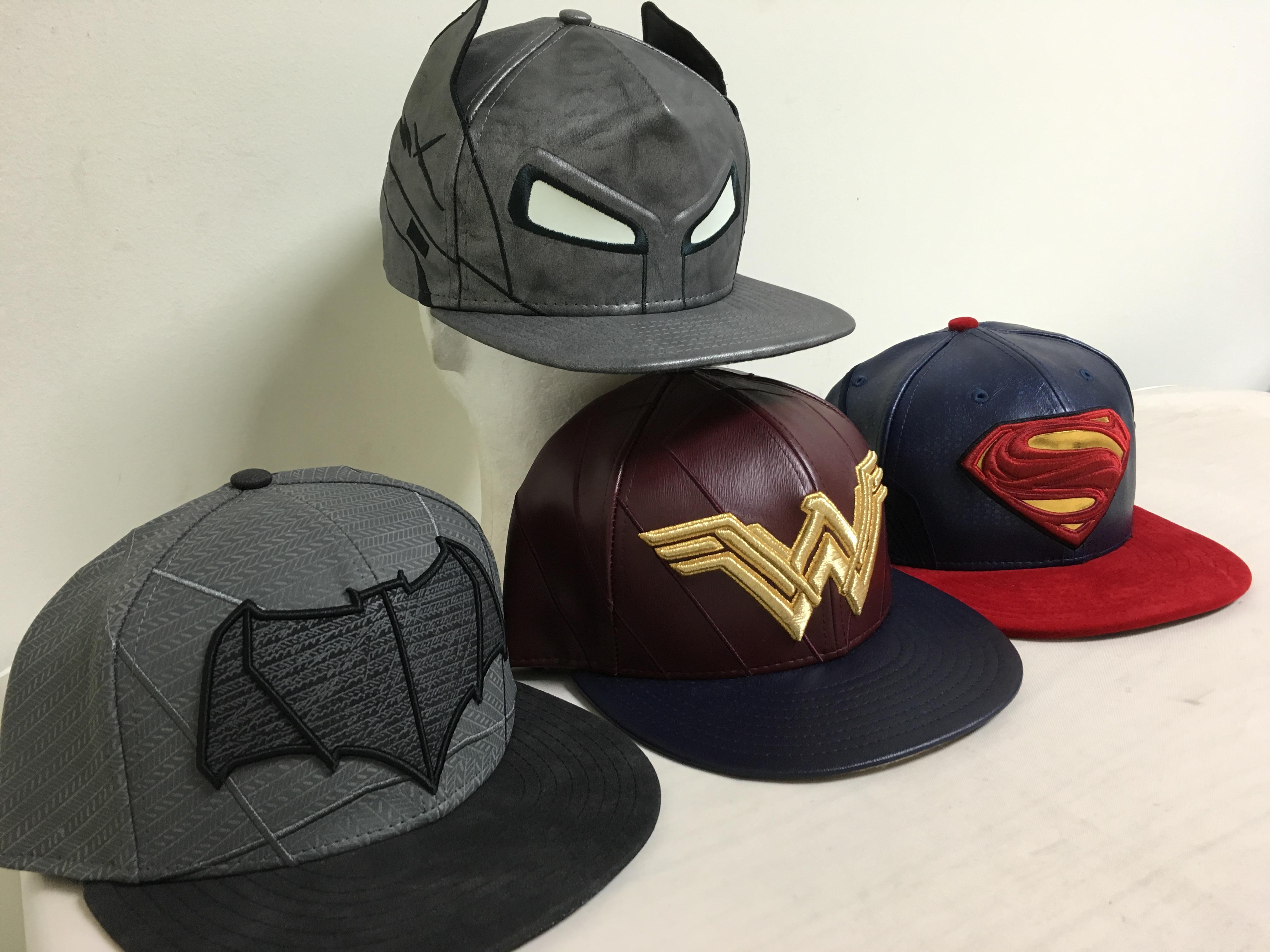 New Batman V Superman Hats!