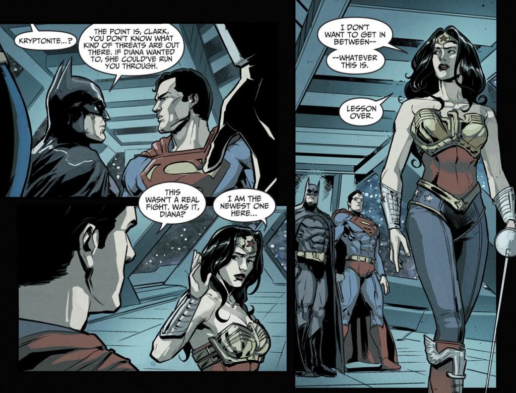 Injustice four, 10, 3