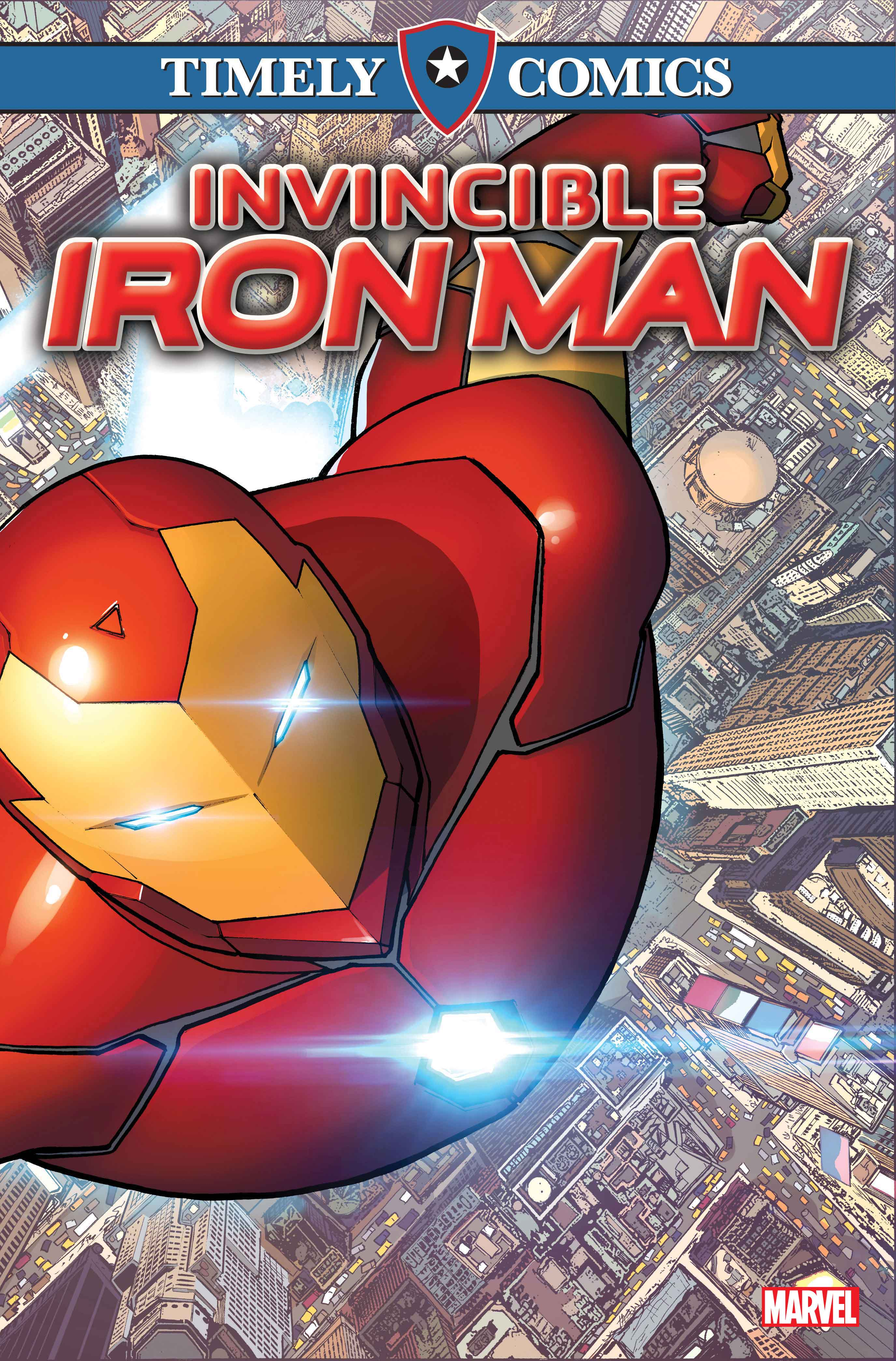 Timely Comics: Invincible Iron Man