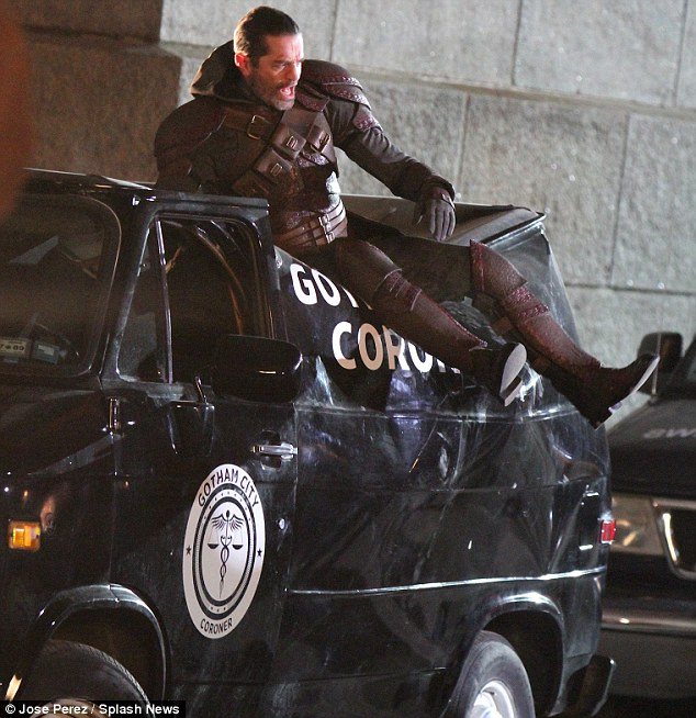 First Look at Azrael on the Set of Gotham!