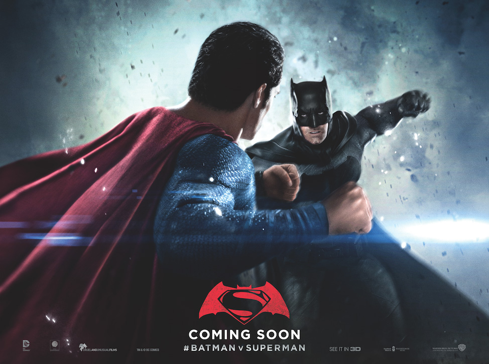 New Batman V Superman Move Posters!