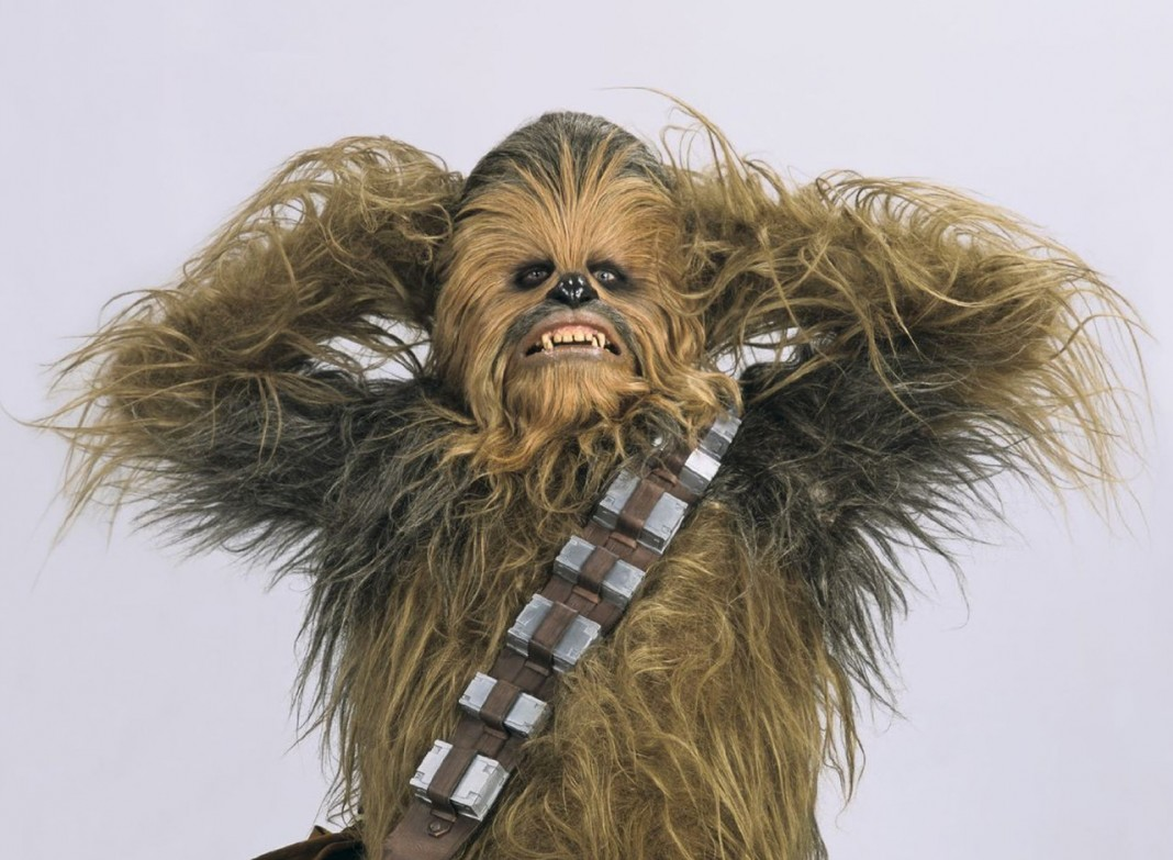 Chewbacca tweets Star Wars script!