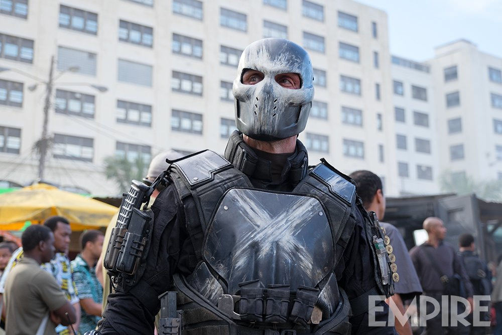 Crossbones from Captain America: Civil War!