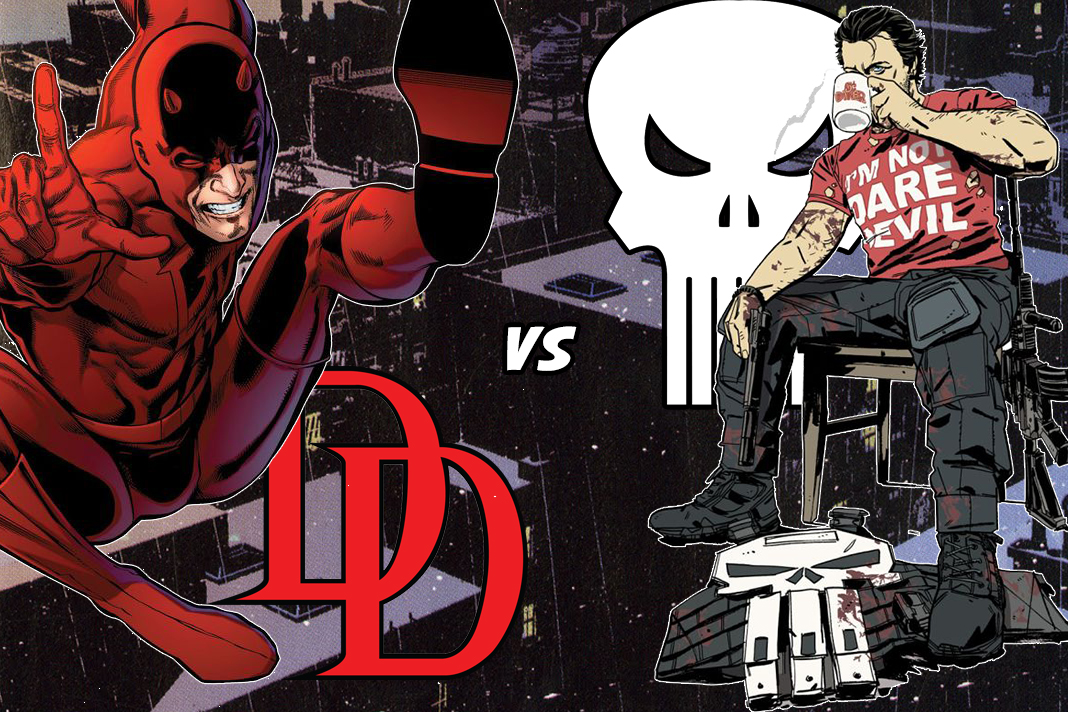 Daredevil V The Punisher!