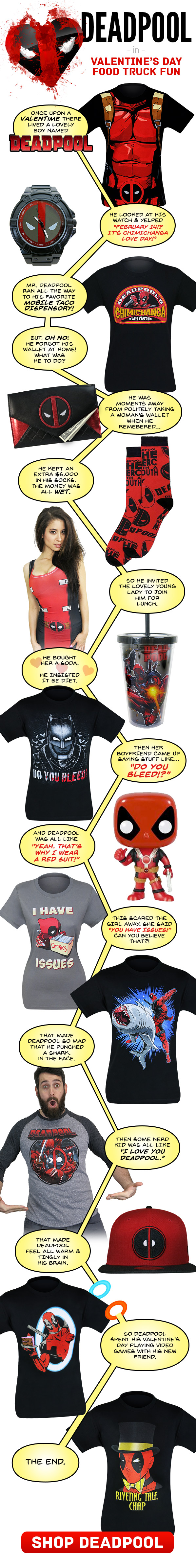 Deadpool LOVES V-Day!