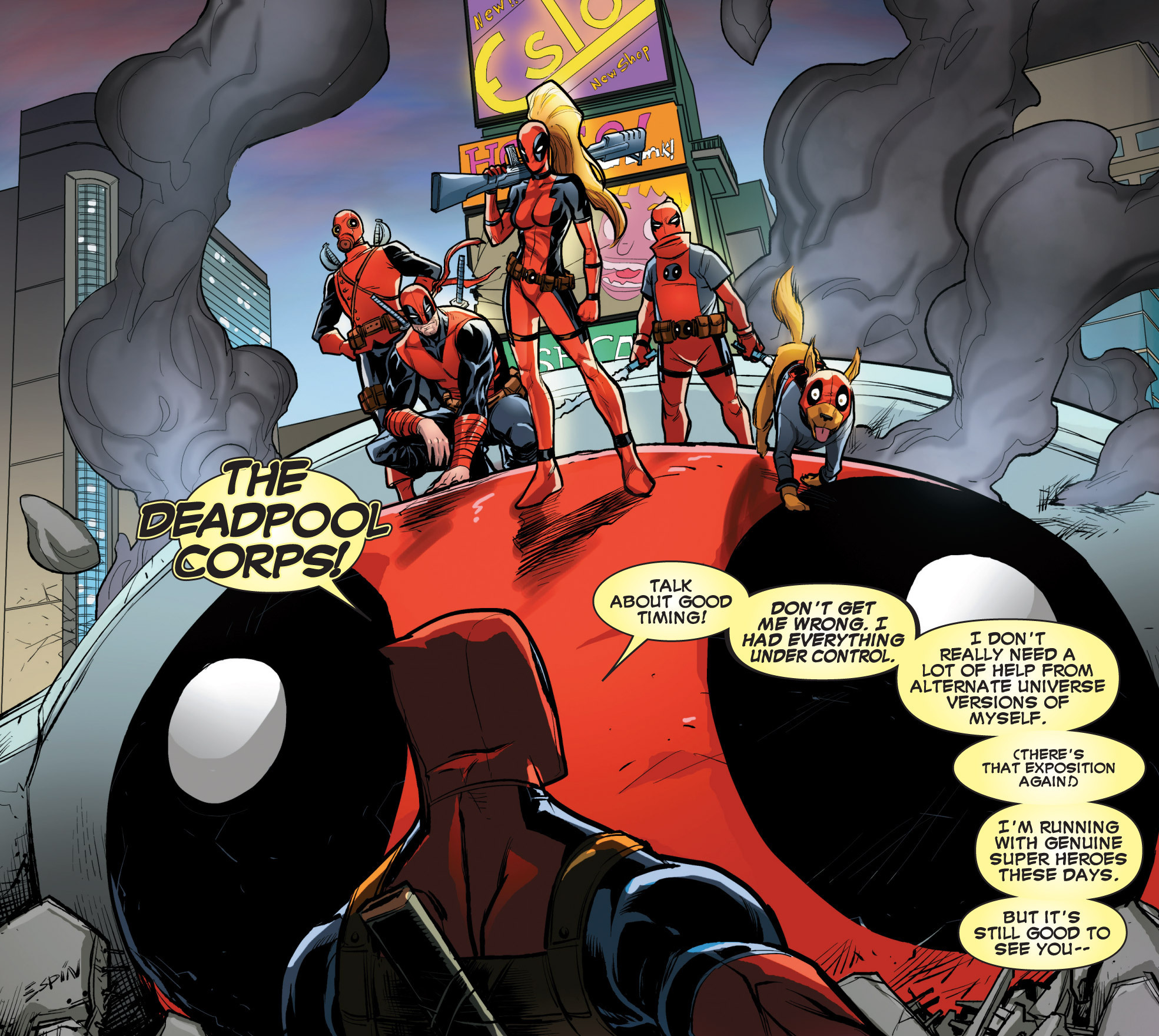 Deadpool Suicide Kings!