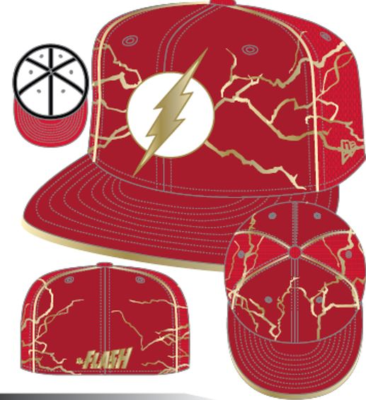 Armor Batman V Superman: Dawn of Justice Flash 5950 Fitted HAT!
