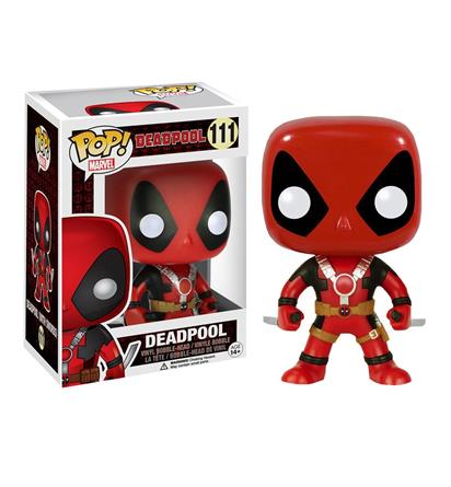 Deadpool Two Swords Pop Vinyl Bobblehead,