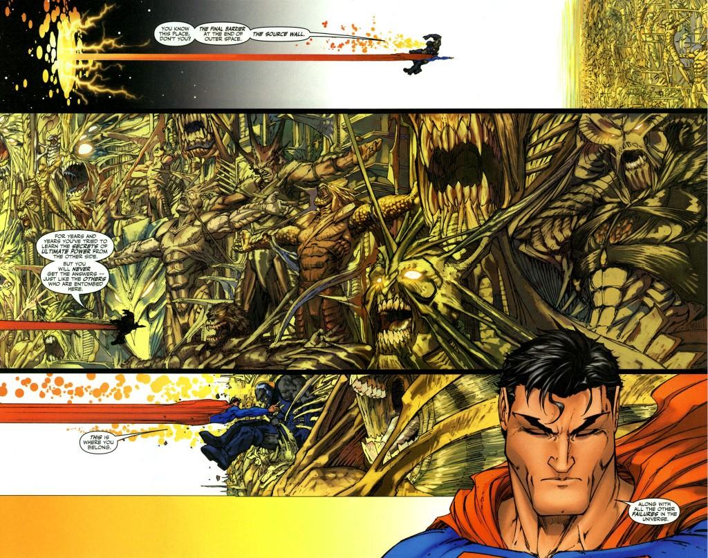 Superman V Darkseid!