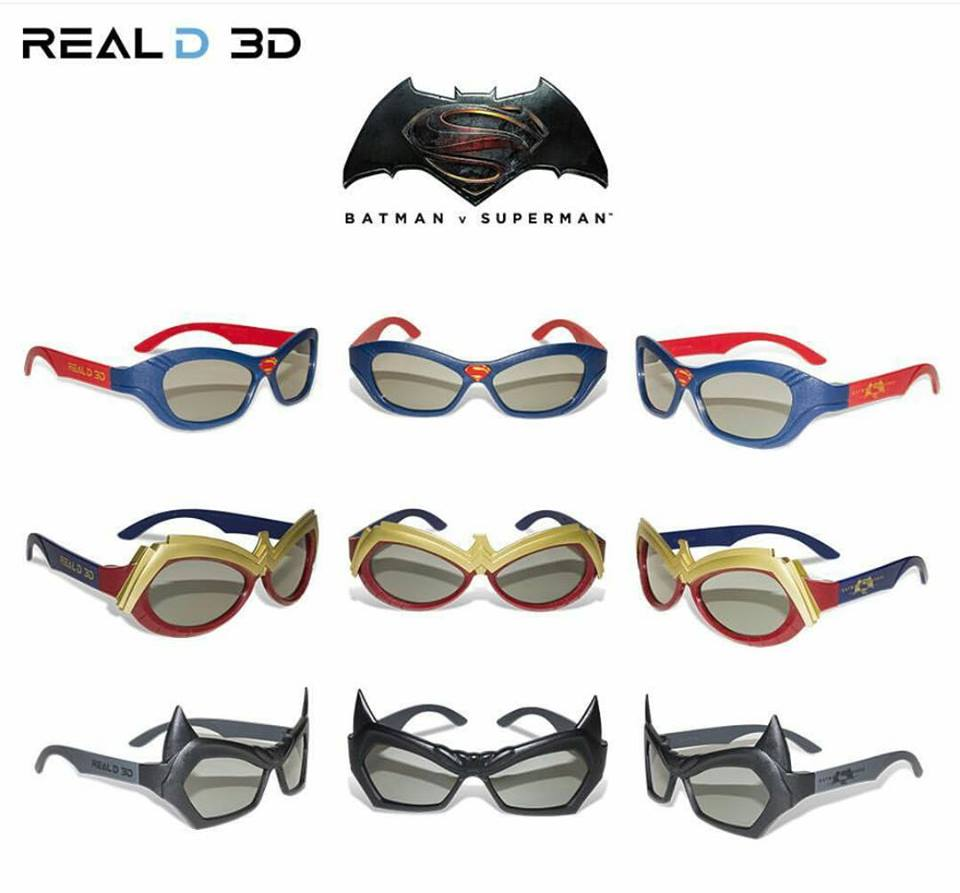 Can I wear these when I'm not watching Batman V Superman?