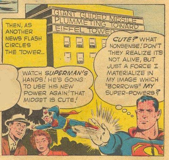 Yep. Mini-Superman.