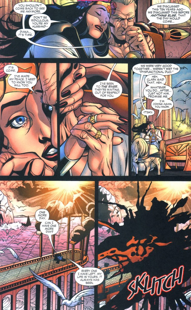Batman and Wonder Woman. TOGETHER!
