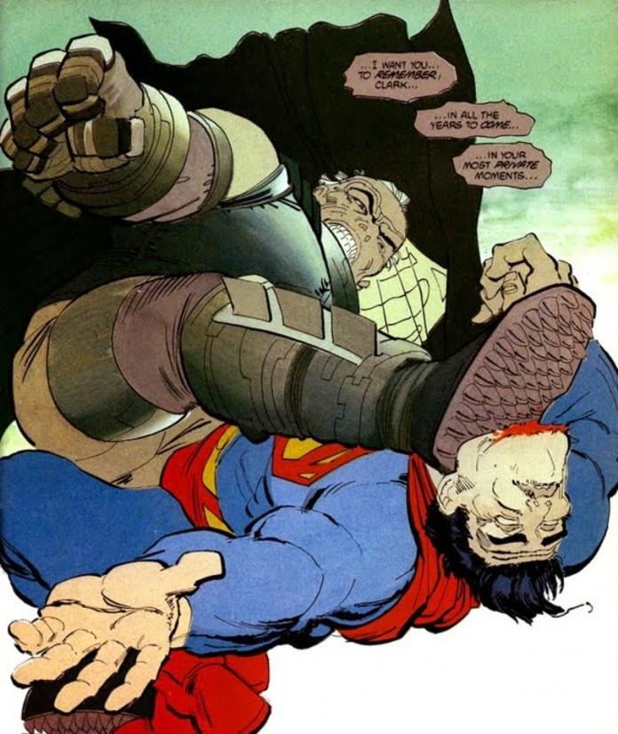 Batman v Superman!