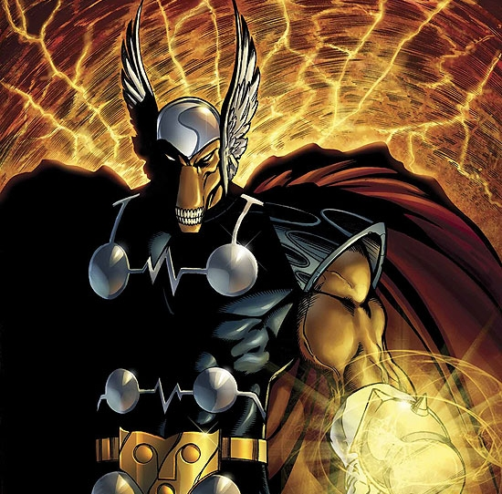 It's Beta Ray Bill!