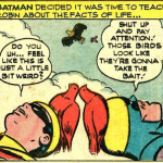 Yes, Robin. It's pretty weird.