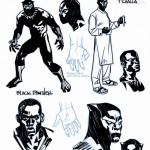 Black Panther #1 Stelfreeze Design Variant