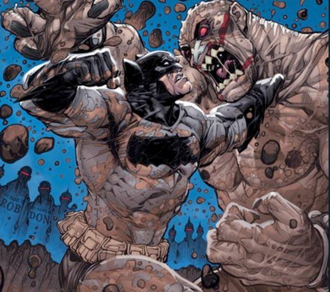 Batman #50 convention variant with Ben Affleck as Batman from 'Batman V Superman: Dawn of Justice'