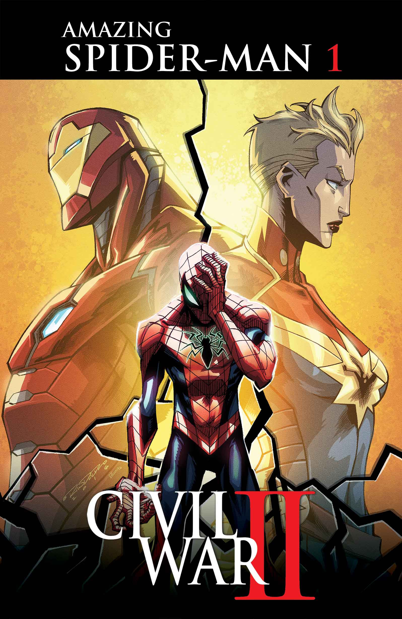 Civil War II: Amazing Spider-Man #1!