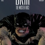 Dark Knight III: The Master Race Book 3 convention variant cover by Paul Pope.